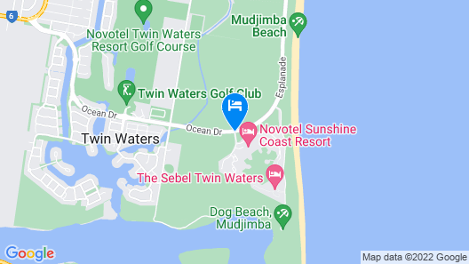 Novotel Sunshine Coast Resort Hotel Map