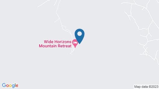 Wide Horizons Mountain Retreat Map