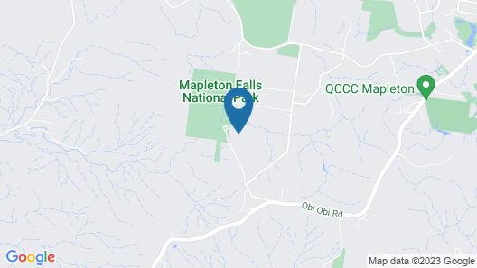 Mapleton Falls Farm House Map