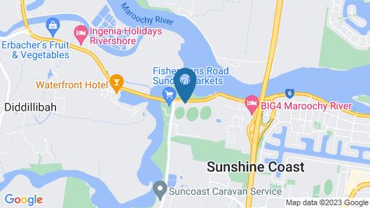 Maroochy River Motel Map