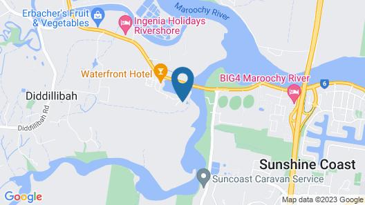 Maroochy River Resort Map