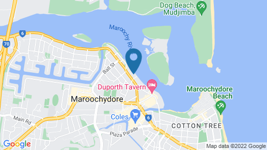 On The River Apartments Map