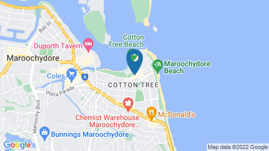 The Dunes Cotton Tree Map