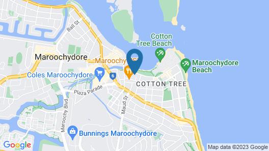 Cosmopolitan Exclusive Rental Apartments Map