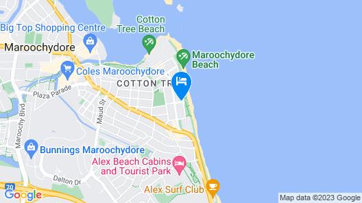 Camargue Beachfront Apartments Map