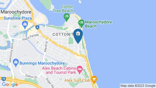 Beach on Sixth Map