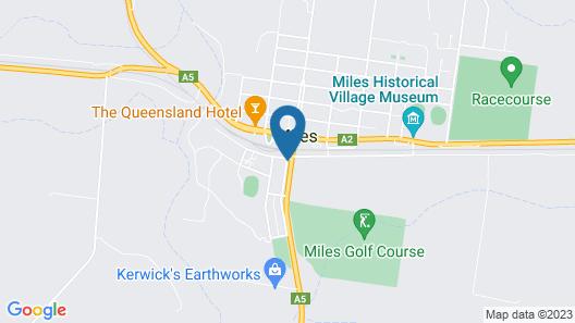 Royal Motel Miles Map