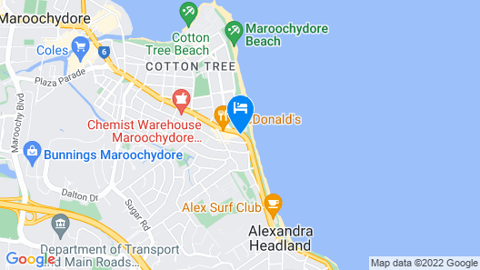 Key Largo Apartments Map