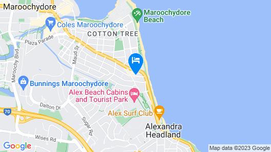The Sebel Maroochydore Map