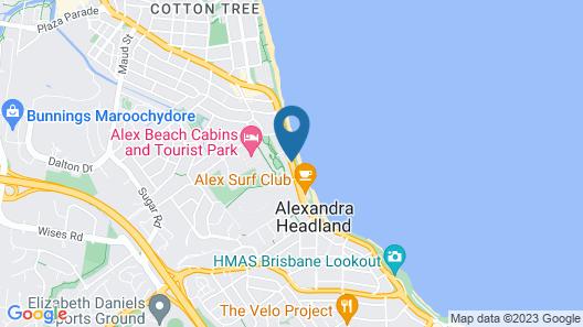 Ocean Boulevard Map