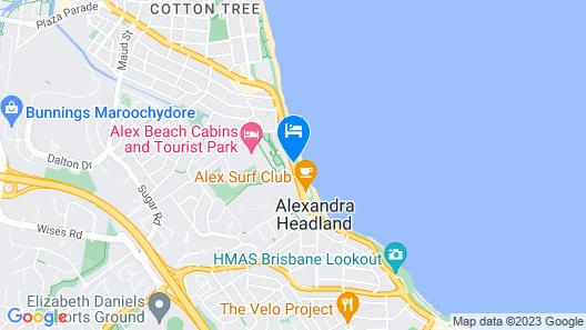 Aquarius Resort Map