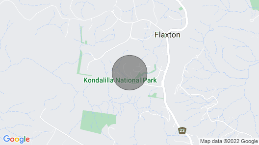 Nirvana at Montville Holiday Home Accommodation Map