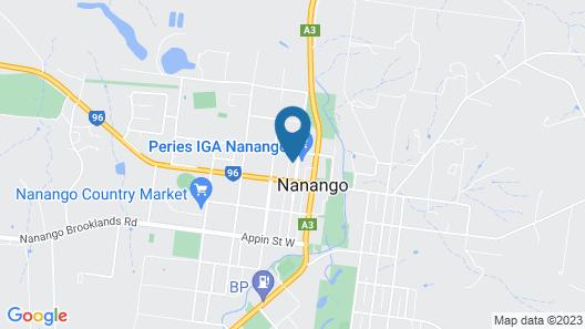 Nanango Fitzroy Motel Map