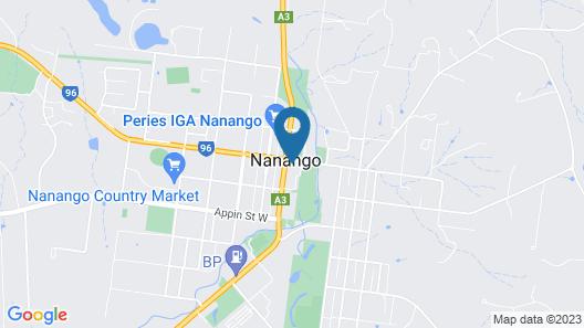 Nanango Star Motel Map