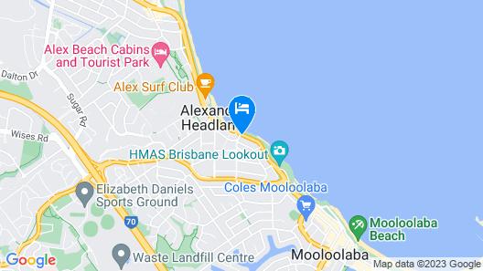Alexandria Apartments Map