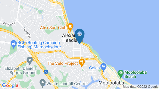 Shandelle Apartments Map