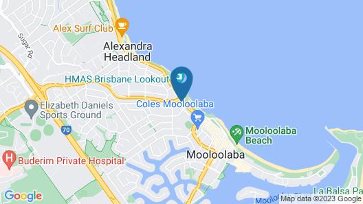 Osprey Apartments Map