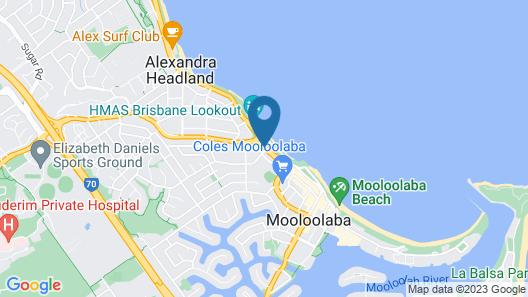 Bellardoo Holiday Apartments Map