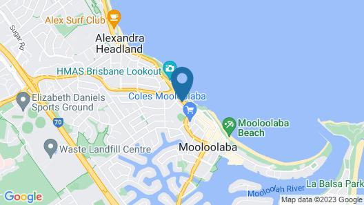 Seaview Resort Map