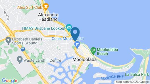 Windward Apartments Map