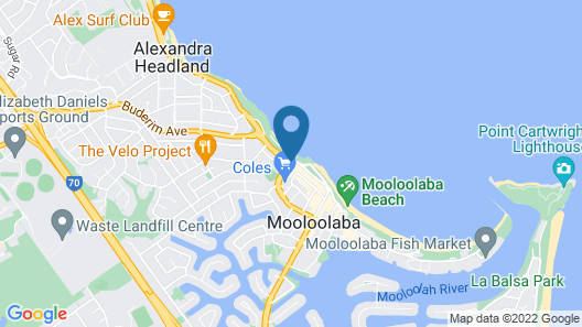 Mantra Mooloolaba Beach Map