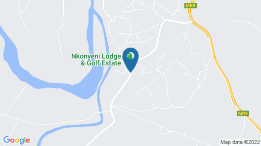 Nkonyeni Lodge & Golf Estate Map
