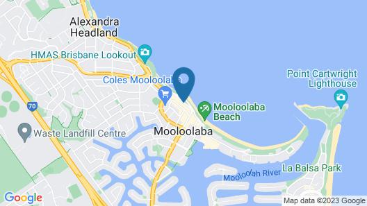 Malibu Mooloolaba Map