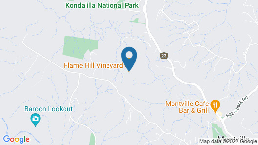 Flame Hill Vineyard Map