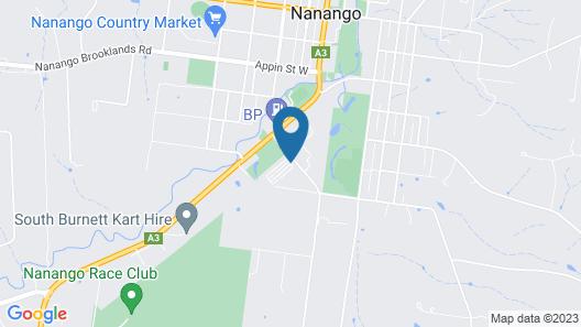 Homestead Caravan Park Map