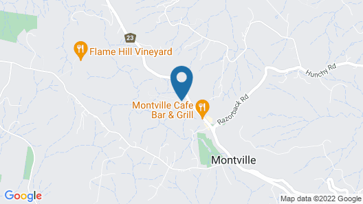 Altitude on Montville Map