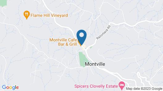 Montville Mountain Inn Map