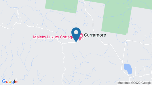 Curra Homestead Maleny Map