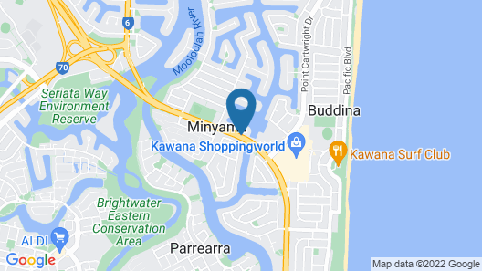 Bluewater Point Resort Map