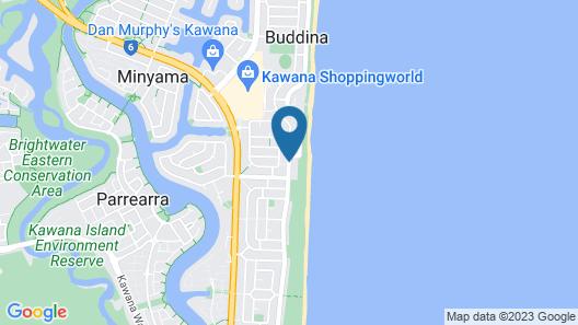 Surfside on the Beach Map