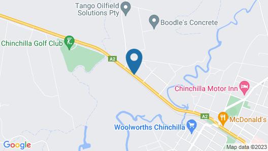 Chinchilla Motel Map
