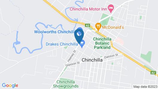 Chinchilla Downtown Motor Inn Map