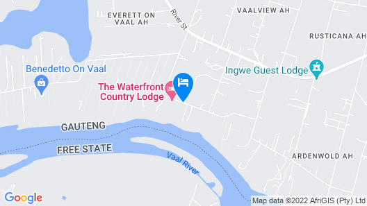 Waterfront Country Lodge Map