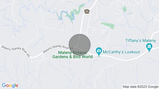 Maleny Bramasole On Mountain View Map