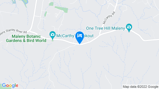 Tranquil Park Maleny Map