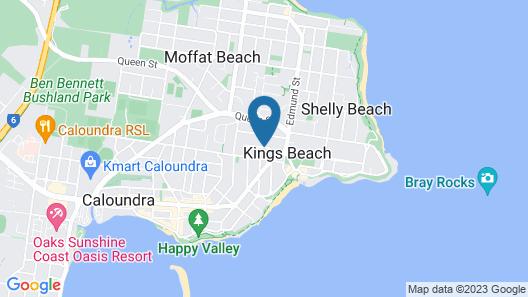 Mariners Resort Map