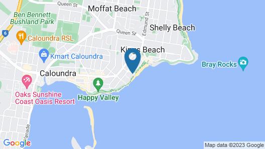 Rolling Surf Resort Map