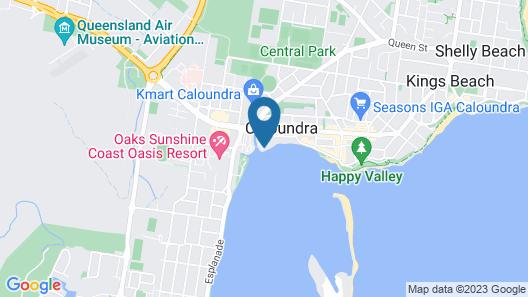Tripcony Quays Apartments  Map