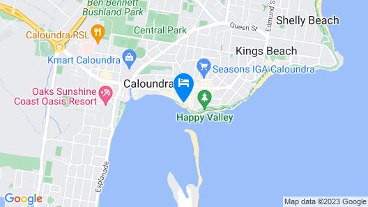 Rumba Beach Resort Map