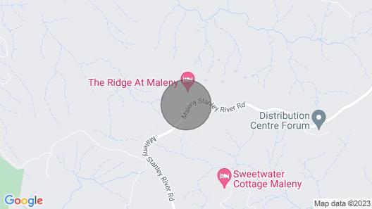 The Ridge At Maleny - Luxury Cabin 7 Map