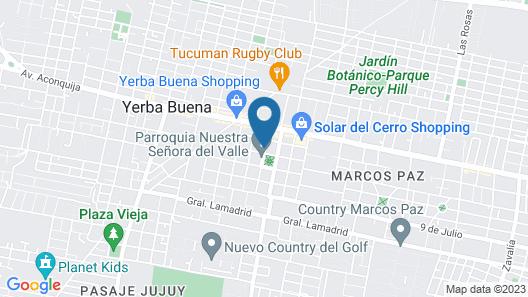 Casa Lola Hotel Boutique Map