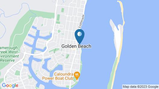 Riviere on Golden Beach Map