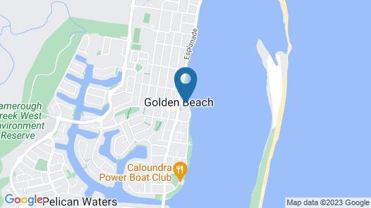 Ramada Resort by Wyndham Golden Beach Map