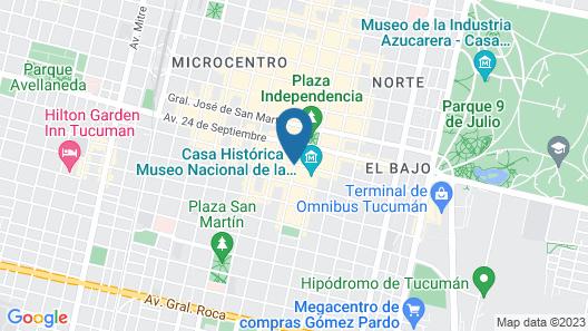 Gran Hotel Premier Map