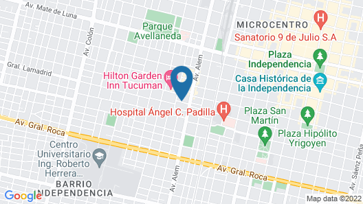 Casa Citá Map