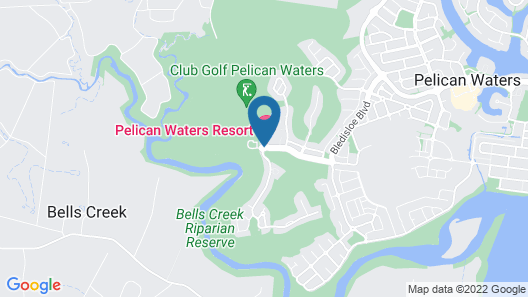 The Sebel Pelican Waters Map